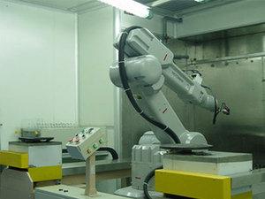 機器人噴塗線