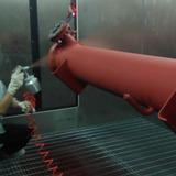 殼管噴塗烘幹線